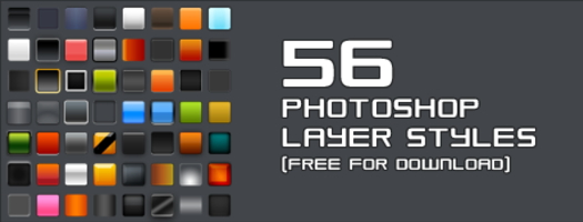 Spice up your design with 56 Photoshop layer styles
