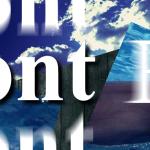 文字の移動・画像挿入-Photoshop