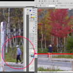 写真の不要箇所を簡単削除