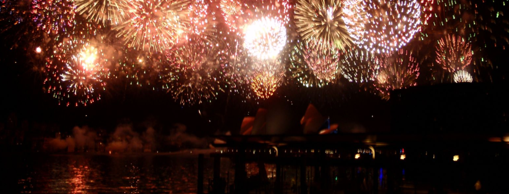 シンプルな花火をブログやホームページに打ち上げる