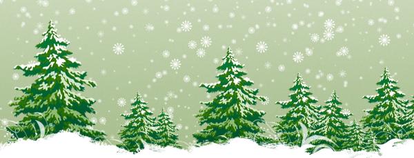 シンプルな雪がブログやホームページに降ってくる