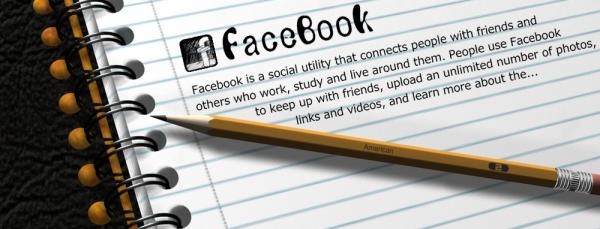 Facebookのウォールに何か書いてみよう