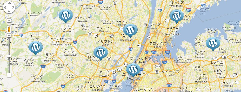 WordPressで住所からGoogle Mapsを簡単表示