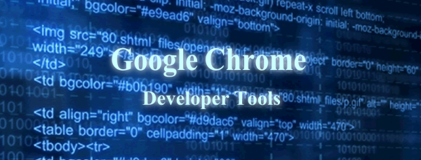Google Chrome Developer Tools